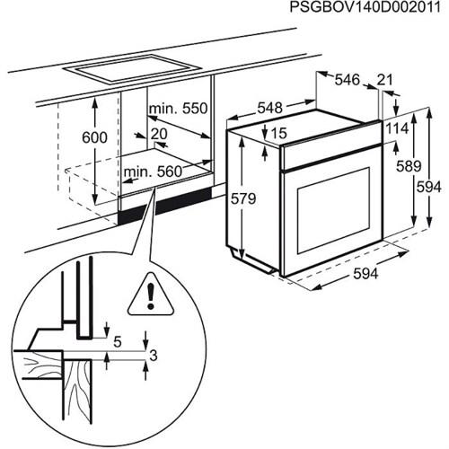 Electrolux EOP600X.