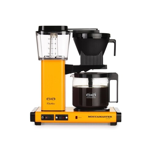Moccamaster KBGC 982 AO-YP Yellow Pepper.